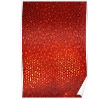 Red Abstract Background Poster