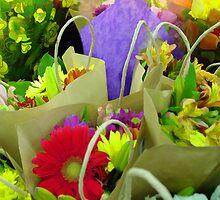 Flower Market by Joy  Rector
