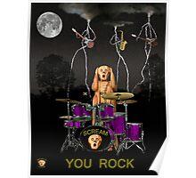 Scream Rock Soul Poster