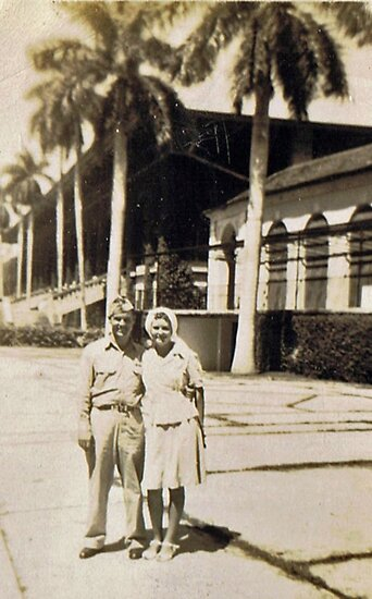 Miami, Florida Honeymoon 1945 by Charldia