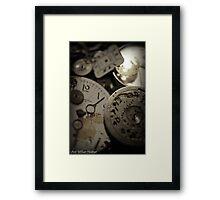 Minute minutes Framed Print