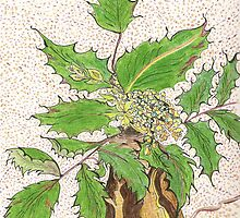 Lisa's Oregon Grape by Lynda Earley