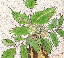 Lisa's Oregon Grape by Lynda Earley