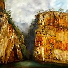 katherine gorge-AUSTRALIA by Wayne Dowsent