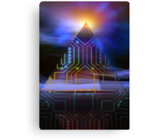 enigma of ancient technology Canvas Print