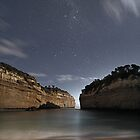 Loch Ard Gorge and Stars by PABarrattArt