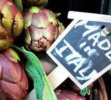 Artichokes (Florence, Italy) by Britland Tracy