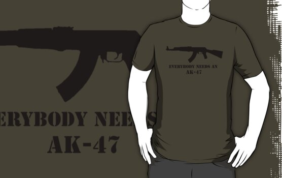 Everybody needs an AK by Tim Topping