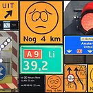 A9 dutch road signs by DutchLumix