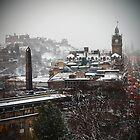 Wintry Edinburgh by Gunnella