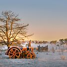 The Last Dawn - New England, NSW by clearviewstock