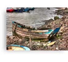 No More Sailing Canvas Print