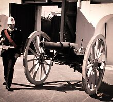 Fort Glanville Barracks in SA by Jules Szoke