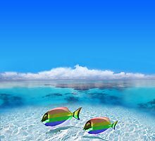 Gay Fishes in Polynesia by Nasko .