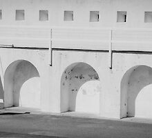 Fort Glanville Barracks in SA by Jules Szoke
