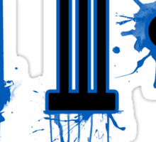 Bleed Blue for India Sticker
