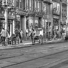 Queen Street B&W by Calin Jugarean