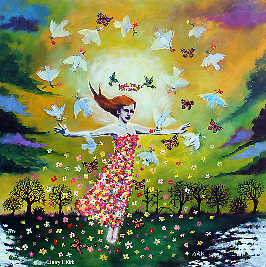 'Awakening (First Dance of Spring)' by Jerry Kirk