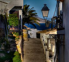 Seeing the sea from Altea by marcopuch