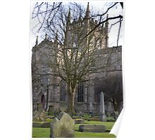 Dunfermline Abbey. Poster