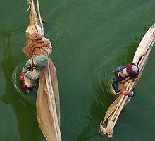 fishermen, amarapura by laurence nelson