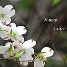 Dogwood Tree - Happy Easter by DebbieCHayes