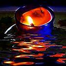 The Burning Candle by Darlene Bayne