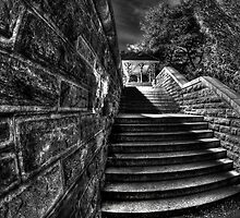 Belvedere steps by FISHEYEJOE