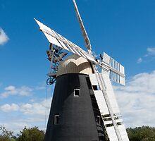 Thelnetham Windmill by DaleReynolds