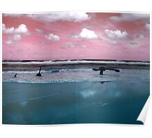 Surrealistic Seascape IV Poster
