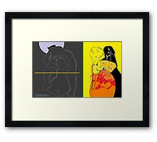 an apple for the teacher 7 mmmm cookie or little lee and leon the gimp pull into town hittin the bricks Framed Print