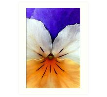 Proud to be a Pansy Art Print