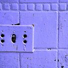 Out of Date Switch Plate by Jennifer Hulbert-Hortman