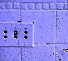 Out of Date Switch Plate by Jennifer Hulbert-Hortman