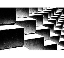 Composition in black and white Photographic Print
