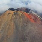 Mount Ngauruhoe Volcanic Cone, Tongariro National Park, North Island, New Zealand by bdimages