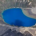 Lower Tama Lake Between Mt Ruapehu and Mt Ngauruhoe, World Heritage National Park, North Island, New Zealand by bdimages