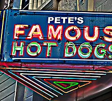 Pete's Famous Hot Dogs, Birmingham, Alabama by Gerry Daniel