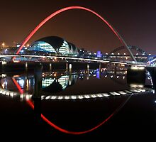 Newcastle Quayside by neil sturgeon