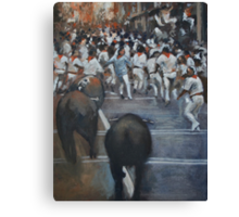 The Bulls Revenge Canvas Print