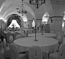 The Banquet Hall - Puglia Italy by Debbie Pinard