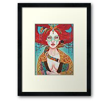 Magdala Rising Framed Print
