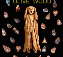 Scream Olive Wood by Eric Kempson