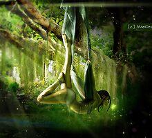 Meeting with a fairy. by Regina Wamba