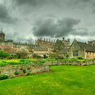 Memorial Gardens & Christ Church Oxford by John Hare