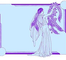 Art Deco Wedding by redqueenself