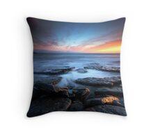 Southerndown Sundown Throw Pillow