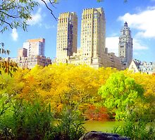 Autumn in New York by Alberto  DeJesus
