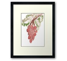 Great Grapes Framed Print