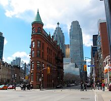 The FlatIron Building of Toronto by MarianBendeth